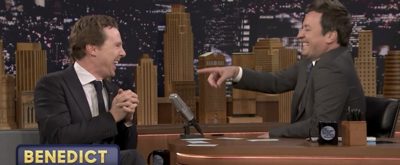 VIDEO: Benedict Cumberbatch Joins Jimmy Fallon for a Game of Sentence Sneak