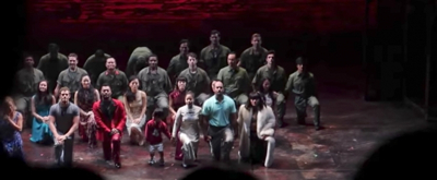 VIDEO: Broadway's MISS SAIGON Cast Takes a Knee in Solidarity with NFL Players