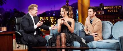 VIDEO: Kate Beckinsale & Adam Scott Visit LATE LATE SHOW
