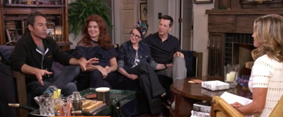 VIDEO: WILL & GRACE Stars Share: 'It Feels Like We Never Left'