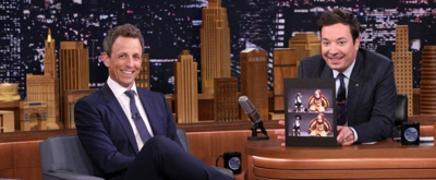 VIDEO: Late Night Hosts Unite - Seth Meyers Visits TONIGHT SHOW STARRING JIMMY FALLON