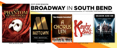 Single Tickets on Sale Next Week for Broadway in South Bend's 2017-18 Season, Featuring KINKY BOOTS, A CHORUS LINE and More