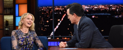 VIDEO: Naomi Watts Shows Off Her Best American Accent on LATE SHOW
