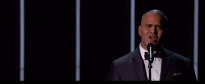 VIDEO: Christopher Jackson Performs During EMMY  'In Memoriam' Segment