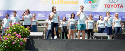 BWW TV: Broadway Dreams Kids Sing Out at Broadway in Bryant Park!