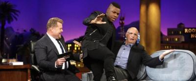 VIDEO: Jeffrey Tambor & John Boyega's Most-Embarrassing Work Revealed on LATE LATE SHOW