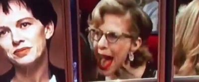 VIDEO: Watch Jackie Hoffman's Hilarious Reaction to Losing EMMY to Laura Dern