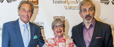 Los actos del centenario del Reina Victoria cierran con Concha Velasco y Arturo Fernández