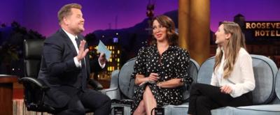 VIDEO: Maya Rudolph & Elizabeth Olsen Visit LATE LATE SHOW