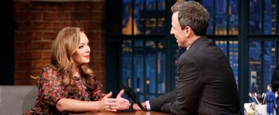 VIDEO: Leah Remini Talks Battle with Scientology on LATE NIGHT