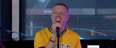 VIDEO: Macklemore Rocks Out to New Single 'Glorious' ft. Skylar Grey on GMA