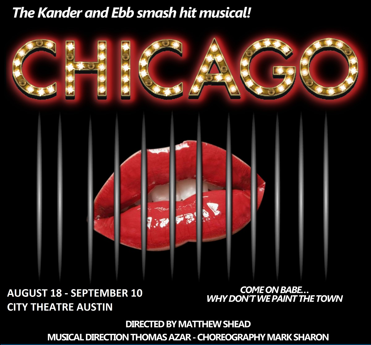 BWW Review: CHICAGO at The City Theatre Lacks the Razzle Dazzle
