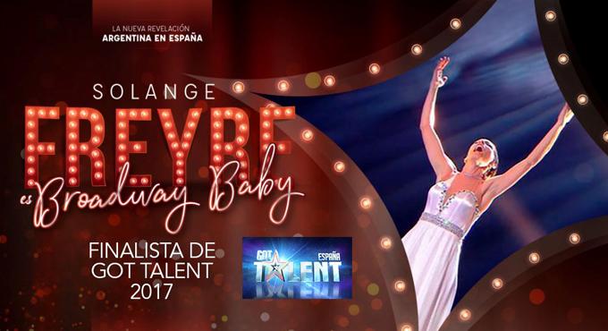 BROADWAY BABY de Solange Freyre emociona en Madrid