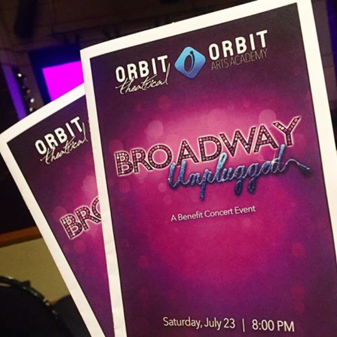 BWW Feature: BROADWAY UNPLUGGED and fall registration at Orbit Arts Academy