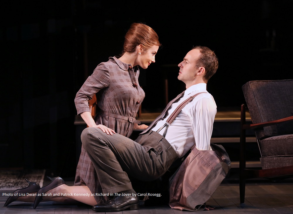 BWW Review: THE LOVER AND THE COLLECTION at SHAKESPEARE THEATRE COMPANY