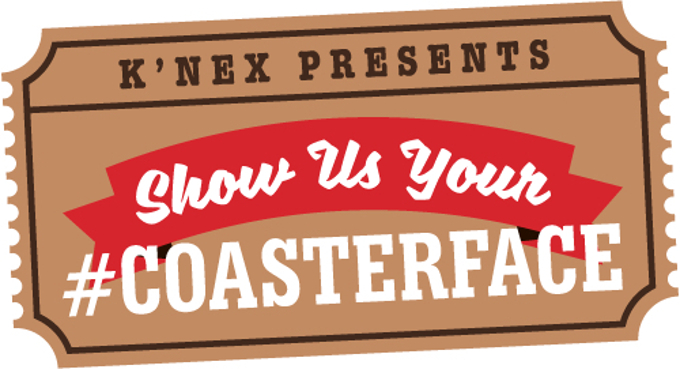 K'NEX Launches 'Show Us Your #COASTERFACE' Photo Contest