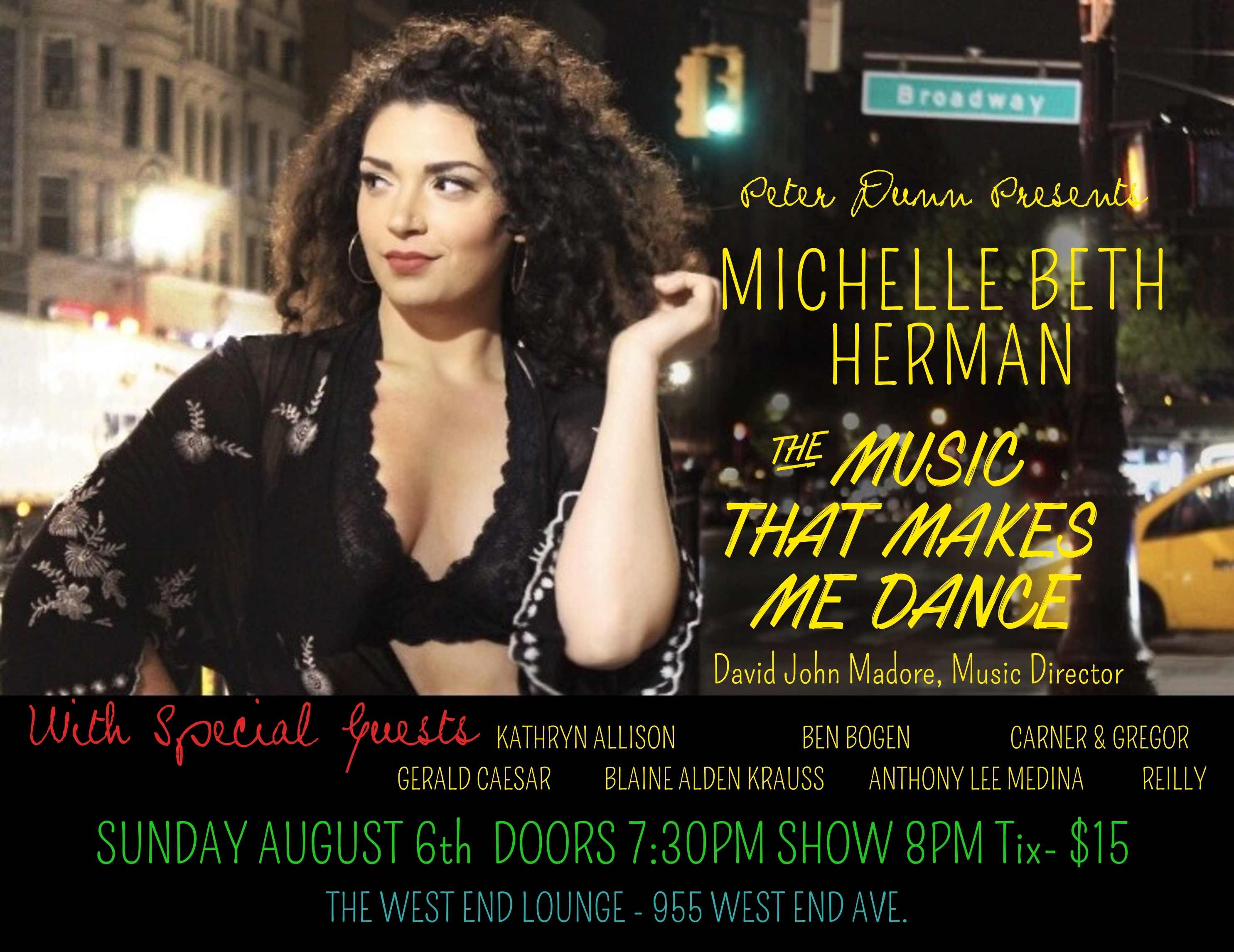Michelle Beth Herman Takes The Stage In Her Solo Cabaret Debut with Special Guests from ALADDIN, A BRONX TALE, HAMILTON and THE GREAT COMET