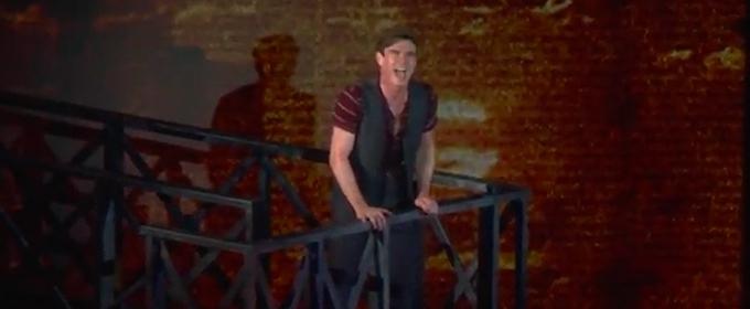 VIDEO: Jay Armstrong Johnson Belts 'Santa Fe' in NEWSIES at The Muny