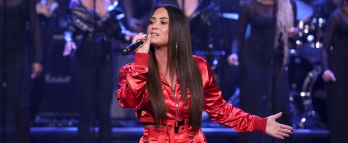 VIDEO: Demi Lovato Performs 'Sorry Not Sorry' & Reveals Song's Inspiration