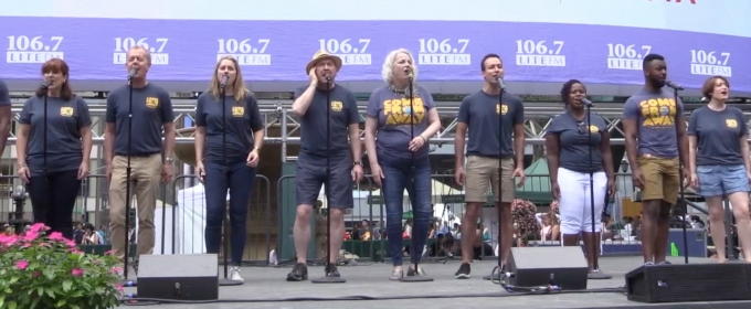 BWW TV: COME FROM AWAY Takes Flight at Broadway in Bryant Park!