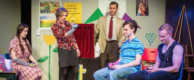 BWW Review: Demon Sock Puppet Terrorizes Teenager in Funny, Moving HAND TO GOD at triangle productions!