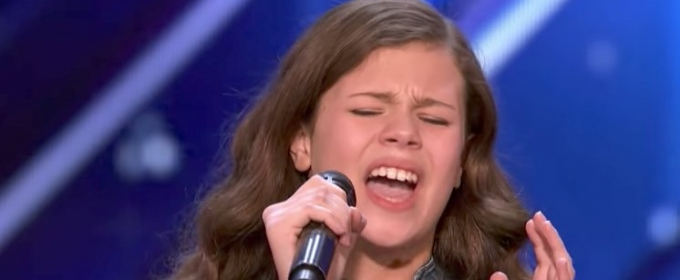 VIDEO: 13-Year-Old Singer Earns Golden Buzzer on AMERICA'S GOT TALENT