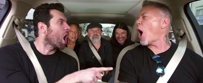 VIDEO: Billy Eichner & Metallica Rock Out to Classic LITTLE MERMAID Tune in New CARPOOL KARAOKE