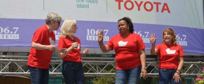 BWW TV: CURVY WIDOW Makes a Match at Broadway in Bryant Park!