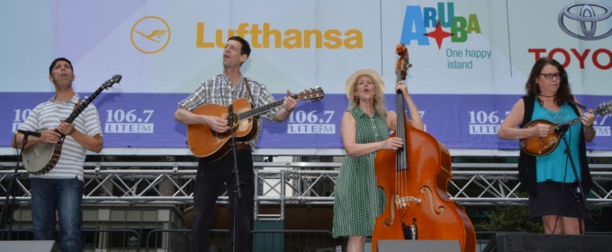 BWW TV: WOODY SEZ Strums Its Way to Broadway in Bryant Park!