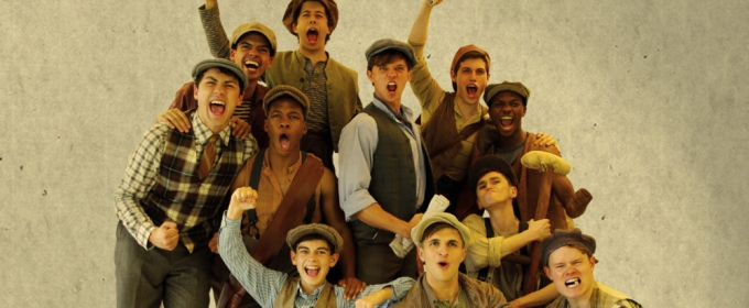 Jim Schubin, Tyler Jones, Richard R. Henry and Tina Fabrique to Seize the Day in NEWSIES at CT Rep