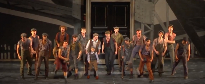 VIDEO: Do They Got Us? No! Watch 'The World Will Know' from NEWSIES at The Muny