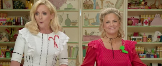 VIDEO: First Look - Jane Krakowski Guests on New Series AT HOME WITH AMY SEDARIS