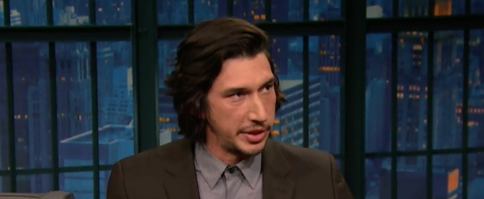 VIDEO: Adam Driver On Bringing Live Theatrical Experiences to U.S. Military Around the World