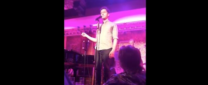 VIDEO: Jonathan Groff Sings Stellar Sondheim/Britney Spears Mashup at Feinstein's/54 Below
