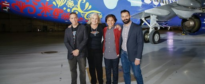 VIDEO: Southwest Celebrates New Film COCO with Custom Boeing Aircraft