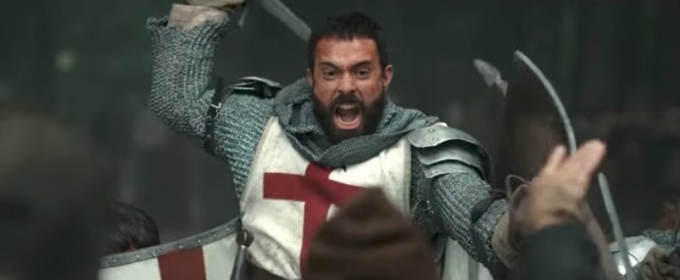 VIDEO: First Look - History's New Scripted Drama KNIGHTFALL