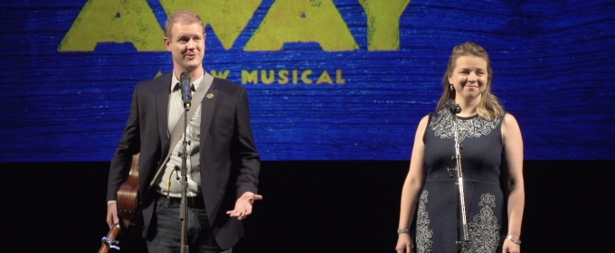 VIDEO: David Hein and Irene Sankoff Perform 'Stop the World' from COME FROM AWAY
