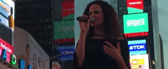 VIDEO: Mandy Gonzalez is 'Fearless' as She Belts Out New Lin-Manuel Miranda Tune at VIVA BROADWAY!