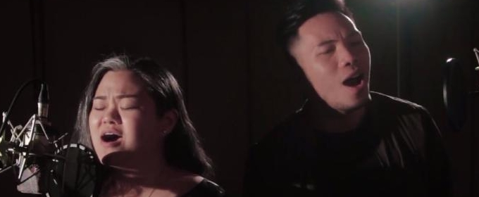 Video: Thespians Gimbey Dela Cruz, Poppert Bernadas Sing DEAR EVAN HANSEN
