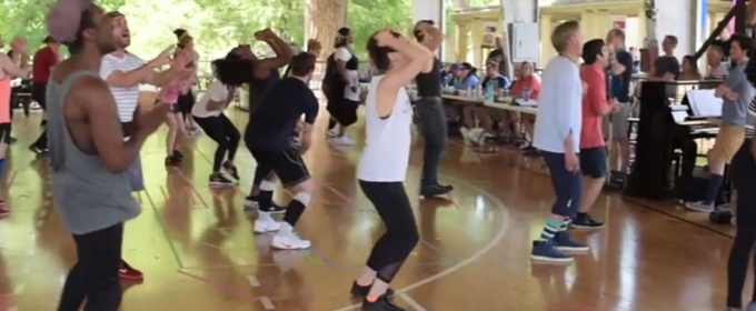 VIDEO: Go Behind the Scenes of The Muny's ALL SHOOK UP