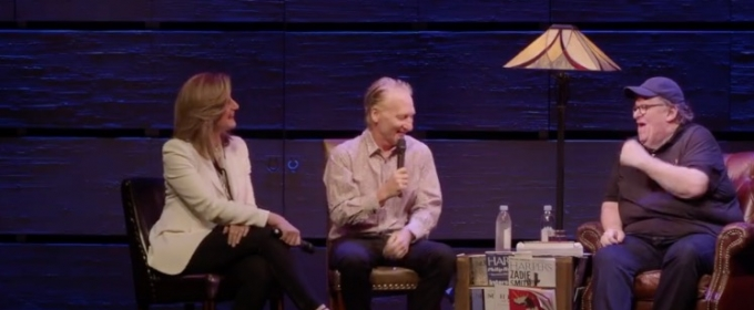 VIDEO:  Bill Maher and Arianna Huffington Talk Trump with Michael Moore at TERMS OF MY SURRENDER