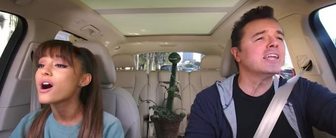 VIDEO: Ariana Grande & Seth MacFarlane Perform LITTLE SHOP OF HORRORS Classic on Carpool Karaoke
