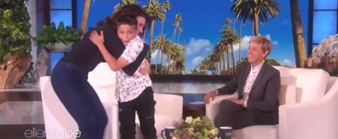 VIDEO: Idina Menzel Gives 11-Year-Old 'Let It Go' Singer Surprise of His Life