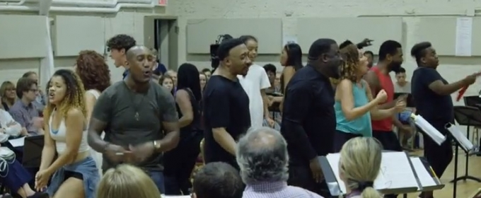 VIDEO: Meet the Islanders! ONCE ON THIS ISLAND Cast Gets Ready for Broadway