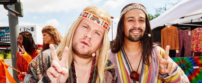 VIDEO: Lin-Manuel Miranda & James Corden Perform Crosswalk the Musical - HAIR