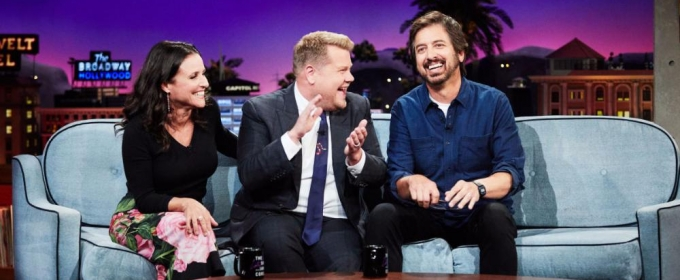 VIDEO: Ray Romano & Julia Louis-Dreyfus Visit LATE LATE SHOW