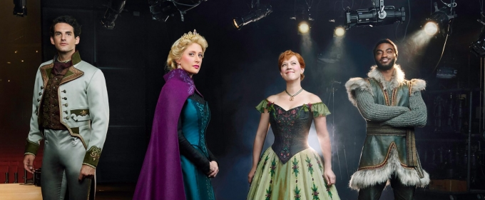 VIDEO: Go Behind the Scenes of the First FROZEN Photo Shoot!