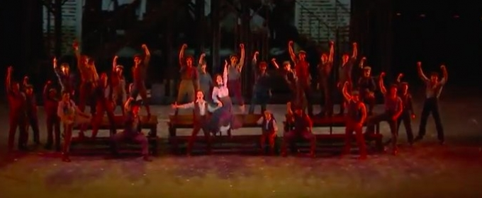 VIDEO: Look at Them! Cast of The Muny's NEWSIES Perform 'King of New York'