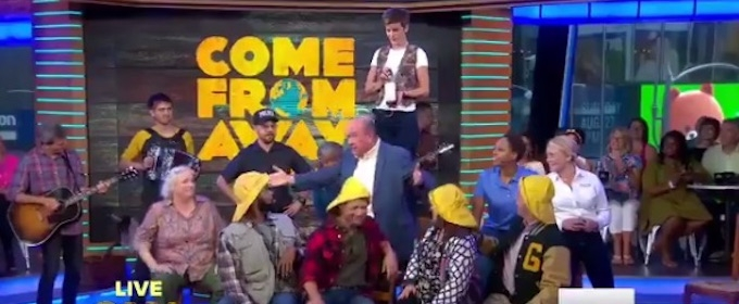 VIDEO: 'You'll Be a Newfoundlander! COME FROM AWAY Cast Performs 'Screech In' on GMA
