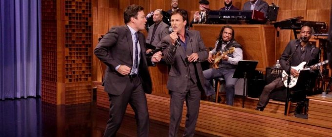 VIDEO: Stephen Moyer Celebrates His Birthday with Karaoke Performance on TONIGHT SHOW